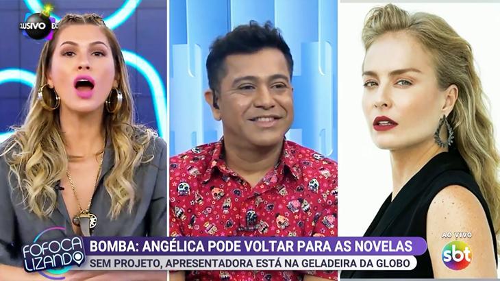 Fora do ar, Angélica pode voltar nas novelas da Globo