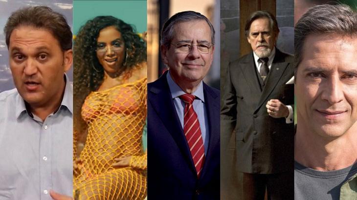 De acusação de racismo a briga de Lacombe e Zé de Abreu: A semana dos famosos
