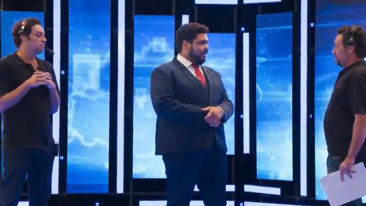 Paulo Vieira no Fora de Hora - Foto: Reprodução/Globo