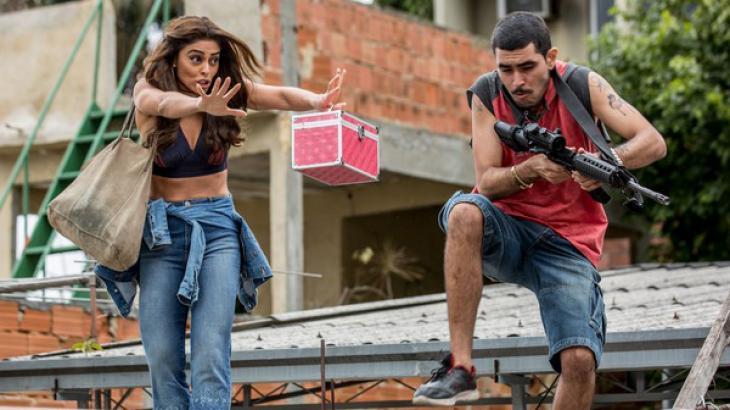 Bibi e traficante em A Força do Querer - Divulgação/TV Globo