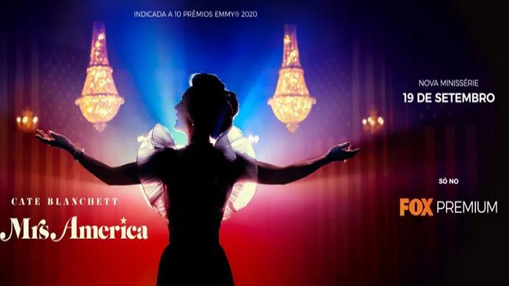 Novo lançamento do Fox Premium, Mrs. America merece sua atenção