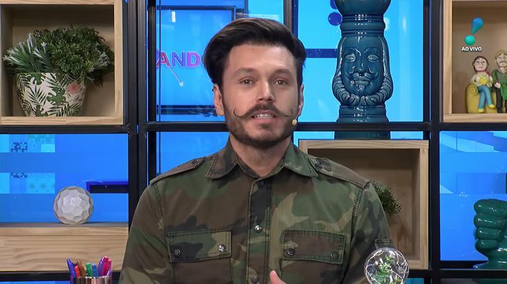Franklin David, apresentador da RedeTV!