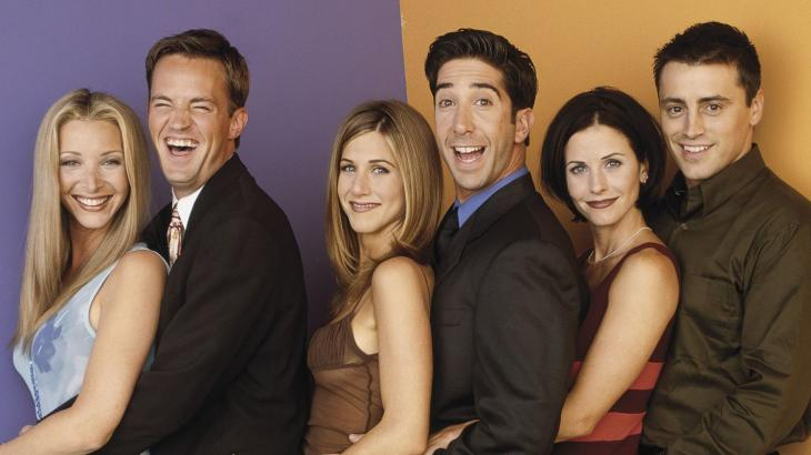 O elenco de Friends