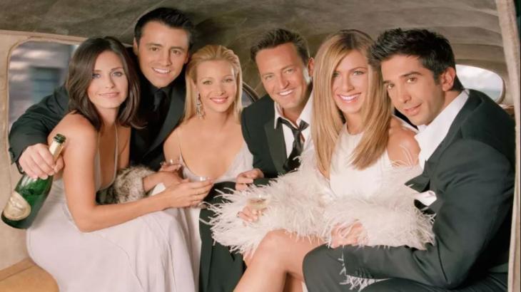 Elenco de Friends no reencontro da HBO Max