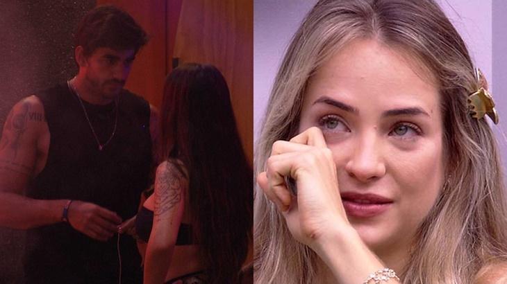 Guilherme diz que já explicou sua relação com Bianca para Gabi no BBB20 - Foto: Globo/Montagem