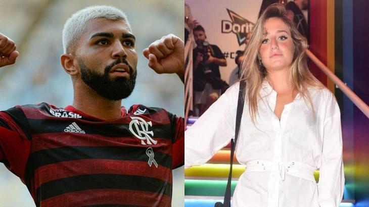 Bruna Griphao e Gabigol deixaram o Rock in Rio juntos - Foto: Montagem