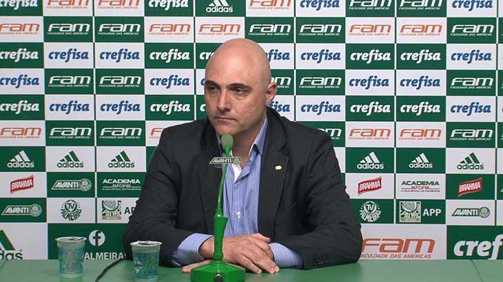 Maurício Galiotte valoriza Palmeiras em negociação