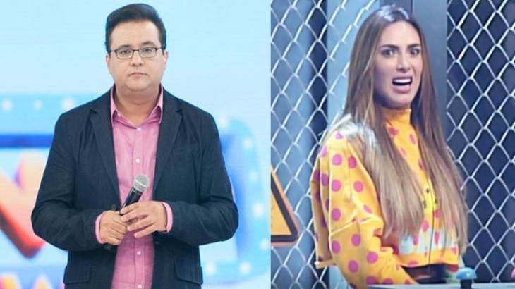 Geraldo Luís e Nicole Bahls, um dos destaques do