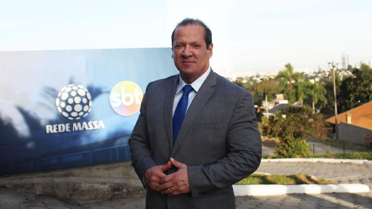 Até abril, Gilberto era contratado da RIC, afiliada da Record - Divulgação/Rede Massa