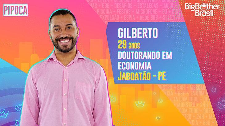 O doutorando em Economia Gilberto, de 29 anos, nasceu e foi criado em Jaboatão dos Guararapes, PE