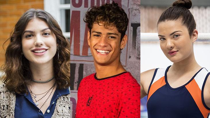 Giovanna Grigio, Gabriel Santana e Lívia Inhudes: do SBT para a Globo