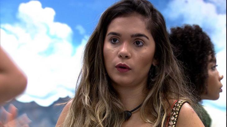 Gizelly quer paredão entre Flayslane, Babu e Prior no BBB20 - Foto: Globo