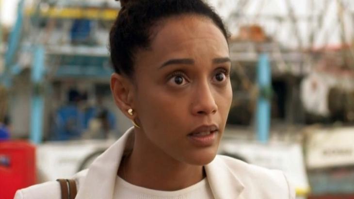 Vitória desconfia que Sandro é seu filho em Amor de Mãe - Reprodução/TV Globo