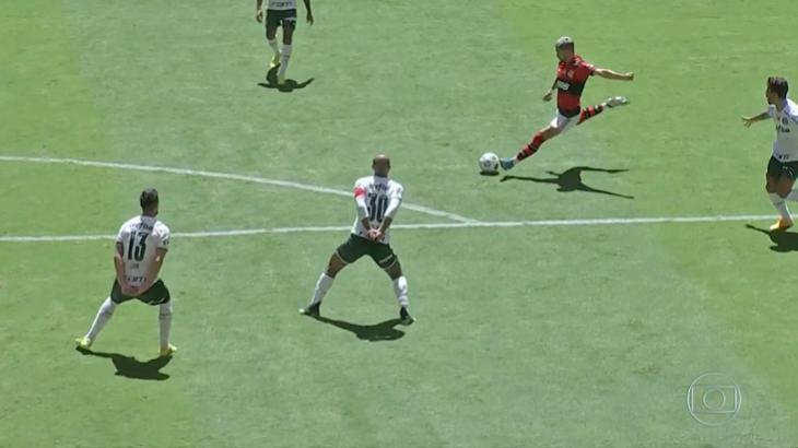 Jogo entre Flamengo e Palmeiras pela Supercopa do Brasil
