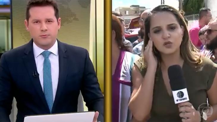 Dony De Nuccio comandou cobertura na Globo - Fotos: Reprodução