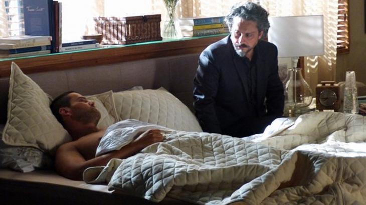 José Alfredo e Maurílio na cama
