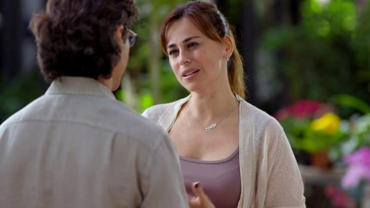 Renato e Suzana em A Vida da Gente conversando