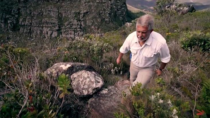 José Raimundo sobe ao mais alto pico do Nordeste para o