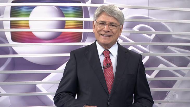 Sérgio Chapelin vai se aposentar em breve, dando lugar a Sandra Annenberg no