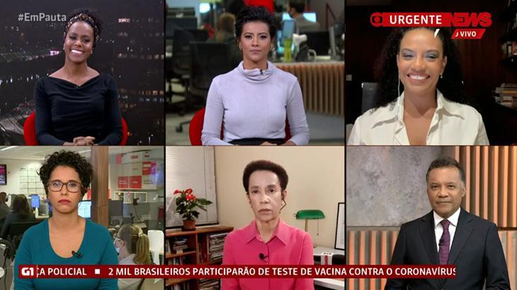 Jornalistas relatam casos de racismo durante programa da GloboNews
