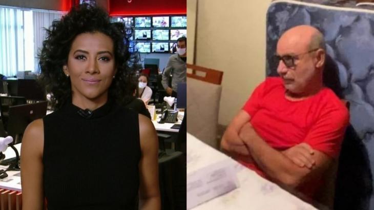 Apresentado por Aline Midlej, o jornal Edição das 10, da GloboNews, teve melhor público desde 2016 com prisão de Queiroz - Foto: Reprodução/GloboNews