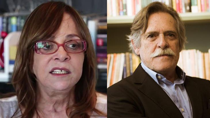 Glória Perez e José de Abreu - Foto: Montagem/Reprodução