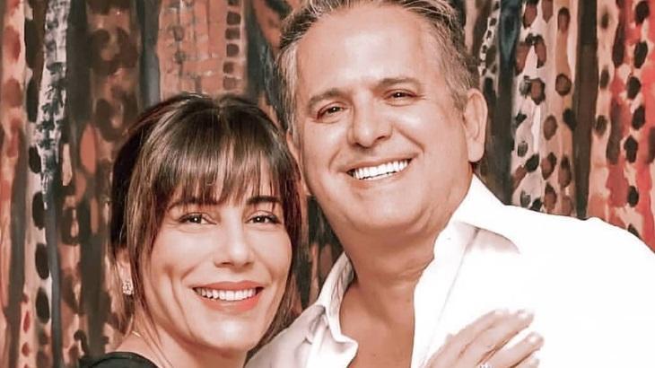 A atriz Gloria Pires é casada desde 1987 com o músico Orlando Morais