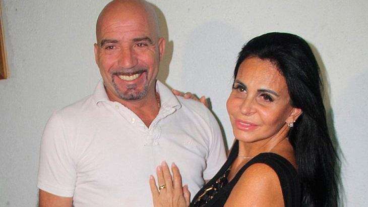 Gretchen ao lado do ex-marido - Foto: Reprodução