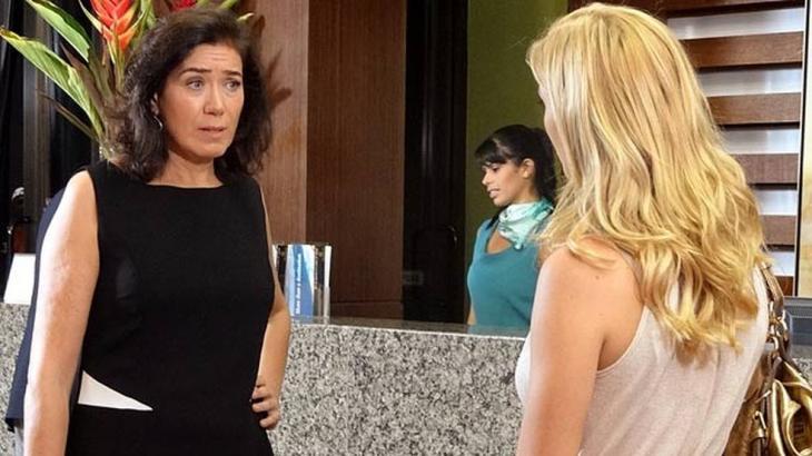 Griselda e Teodora discutem em hotel - Divulgação/TV Globo