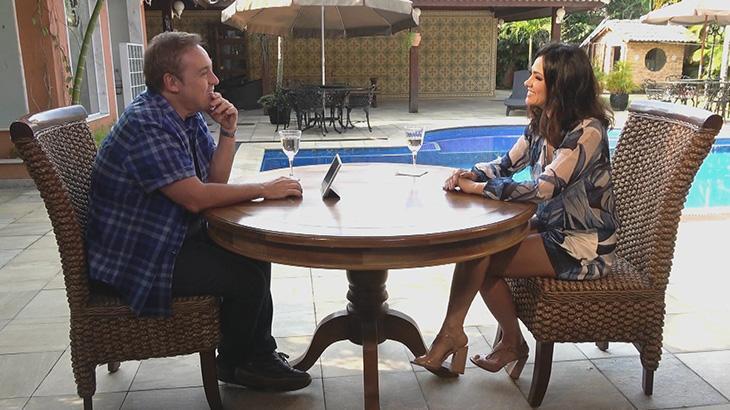 Gugu entrevista Suzana Alves e segue atrás de Ratinho na audiência