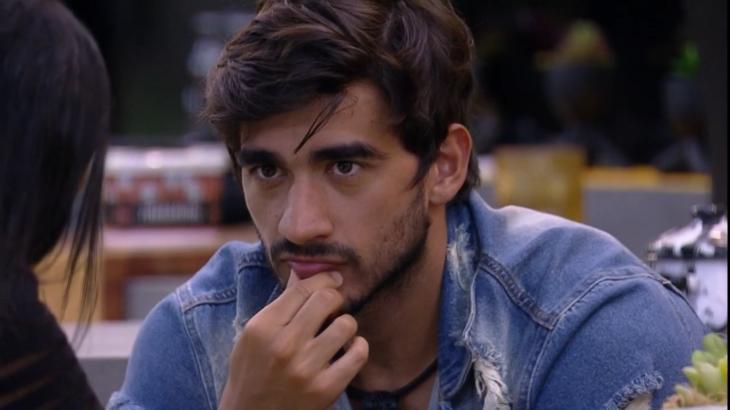 Guilherme durante o reality show BBB20