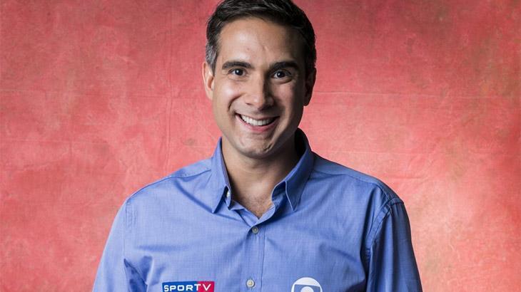 O narrador Gustavo Villani (Foto: Divulgação/TV Globo)