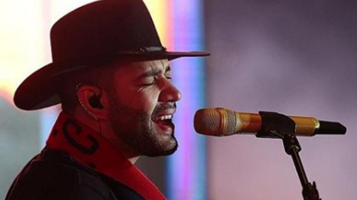 Gusttavo Lima no show em São Paulo - Foto: Reprodução/Instagram