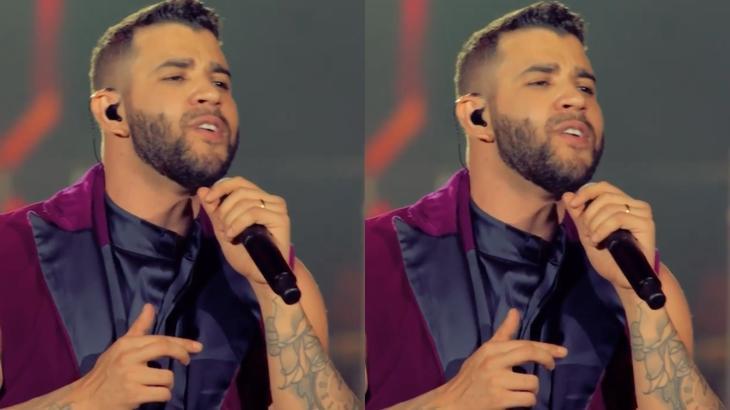O cantor Gusttavo Lima teve a música