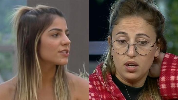 Hariany Almeida criticou postura de Bifão no reality show A Fazenda 11 (Reprodução/Montagem)