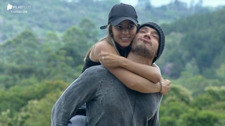 Lucas Viana e Hariany Almeida estão na grande final do reality show A Fazenda 2019. (Reprodução)