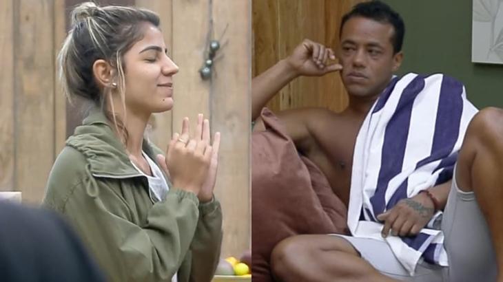 Phellipe Haagensen e Hariany Almeida em polêmica no reality show