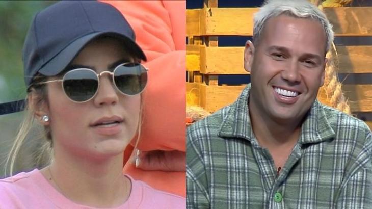 Hariany Almeida e Viny Vieira estão na décima primeira roça do reality show A Fazenda 2019 (Reprodução/Montagem)