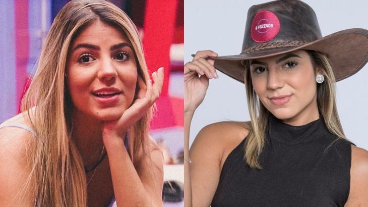 Hariany Almeida já participou do BBB e agora integra o elenco de A Fazenda 2019 (Reprodução/Globo/Divulgação/Record)