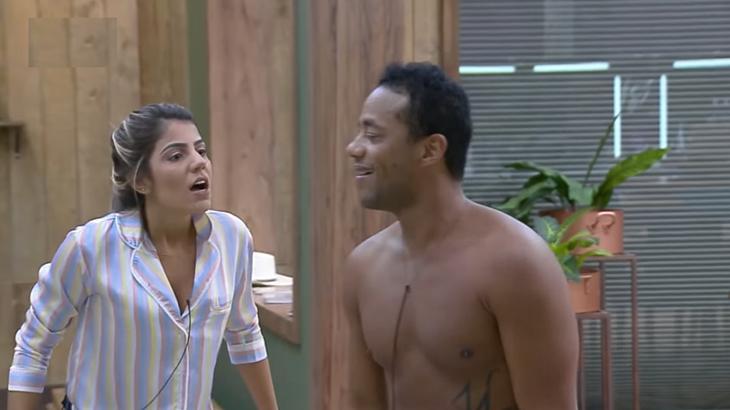 Hariany Almeida e Phellipe Haagensen no reality show