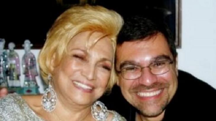 Hebe Camargo e filho