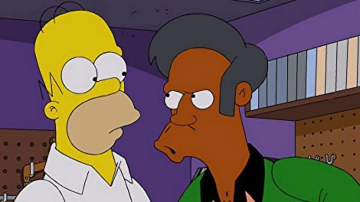 Homer Simpson e Apu