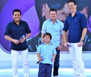"""Bruno & Marrone dançam com Rodrigo Faro em """"O Melhor do Brasil"""""""