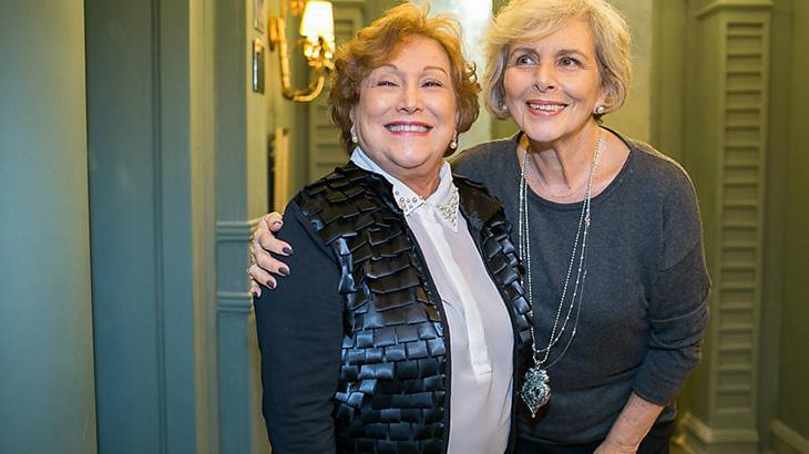 As atrizes Nicette Bruno e Irene Ravache