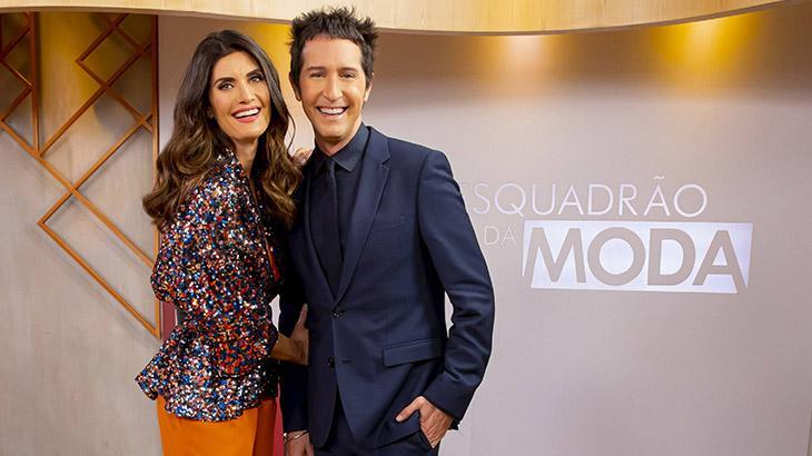 Isabella Fiorentino e Arlindo Grund posam abraçados
