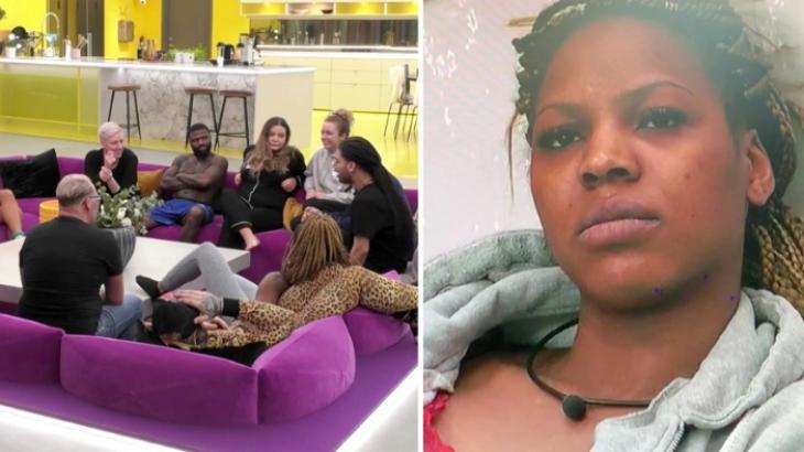 Elenco do Big Brother Suécia e participante expulsa, Isabel Pereira - Reprodução