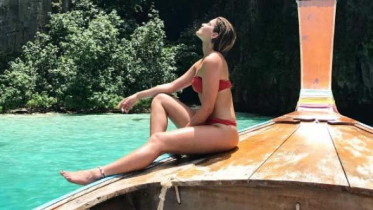 Isabella Santoni se despede das férias com foto arrebatadora