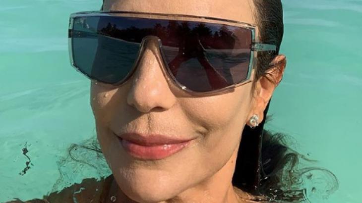 Ivete Sangalo nas ilhas Maldivas - Reprodução/Instagram