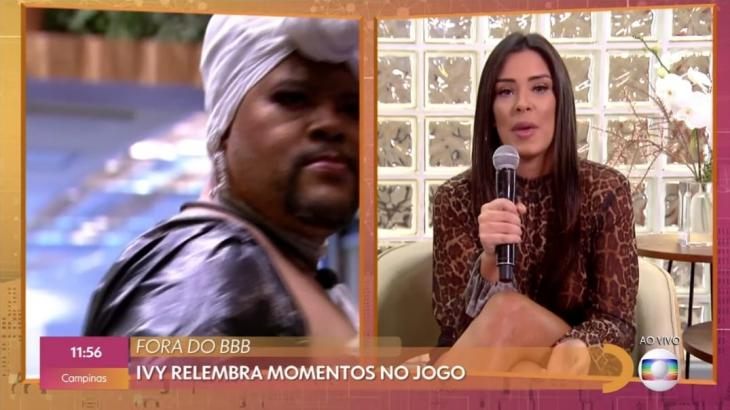 Ivy Moraes participa do Encontro com Fátima Bernardes