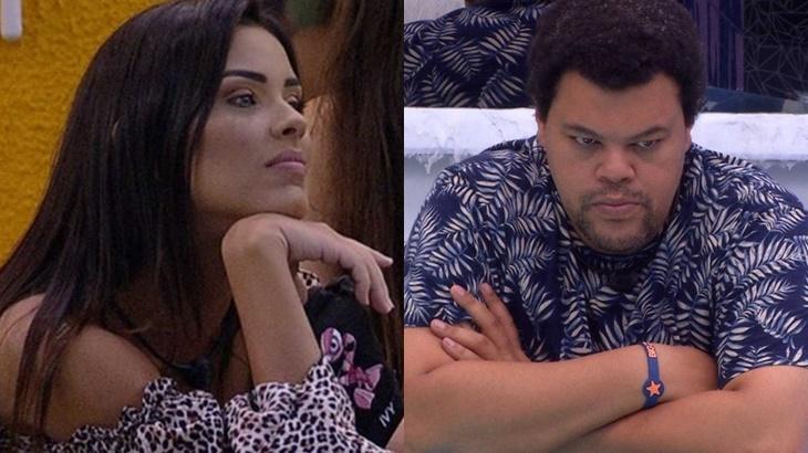 Ivy não quer ver Babu Santana na final do BBB20 - Foto: Globo/Montagem